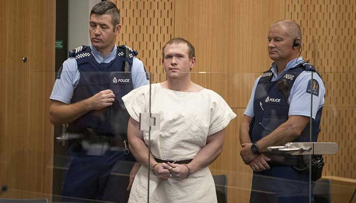 No Lawyers for Australian Brenton Tarrant at NZ Sentencing