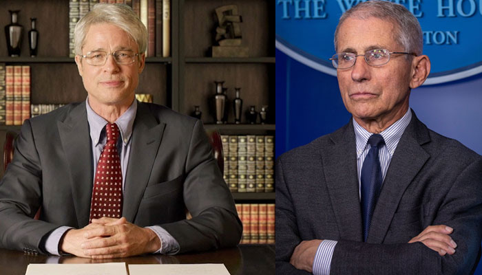 Brad Pitt Is An Emmy Nominee For Playing Dr. Fauci On SNL