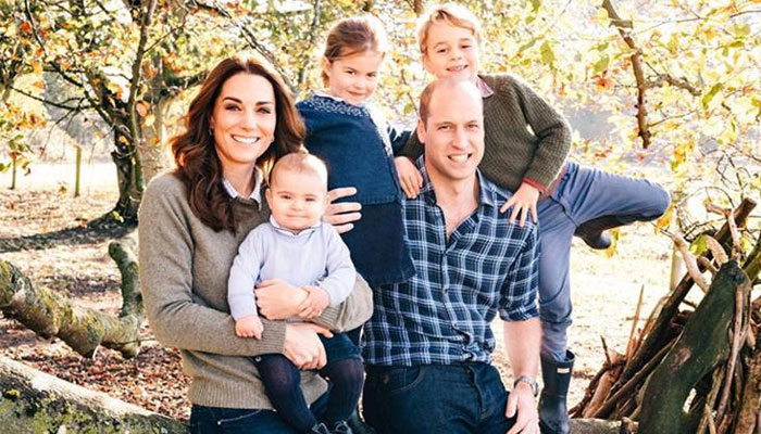 William and Kate share unseen photo of Prince Louis with royal fan