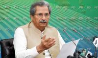 Shafqat Mahmood warns against 'hasty decision' to close educational institutions