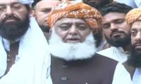 Fazl says PM Imran Khan scared of PDM's movement