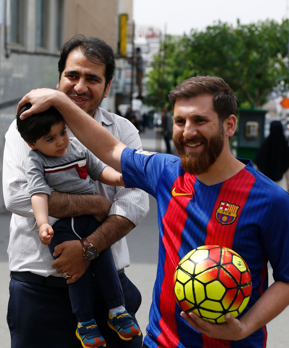 Meet reza perestesh irans own version of lionel messi lifestyle meet reza perestes hes a regular guy from iran but hes gained popularity for his stunning resemblance to messi m4hsunfo Choice Image