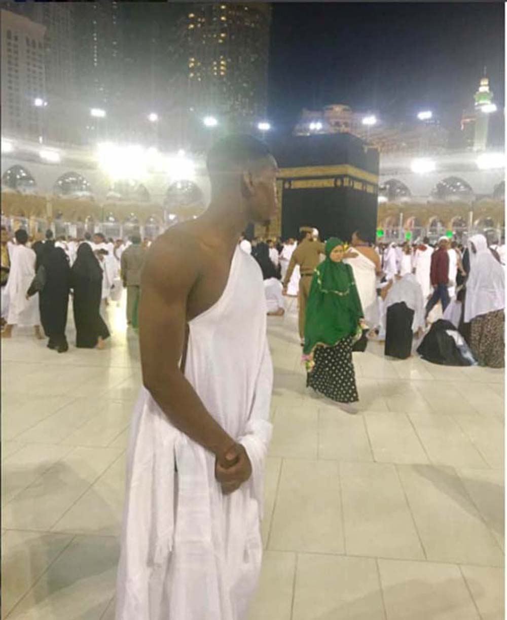 Pogba, world's most expensive footballer, performs Umrah