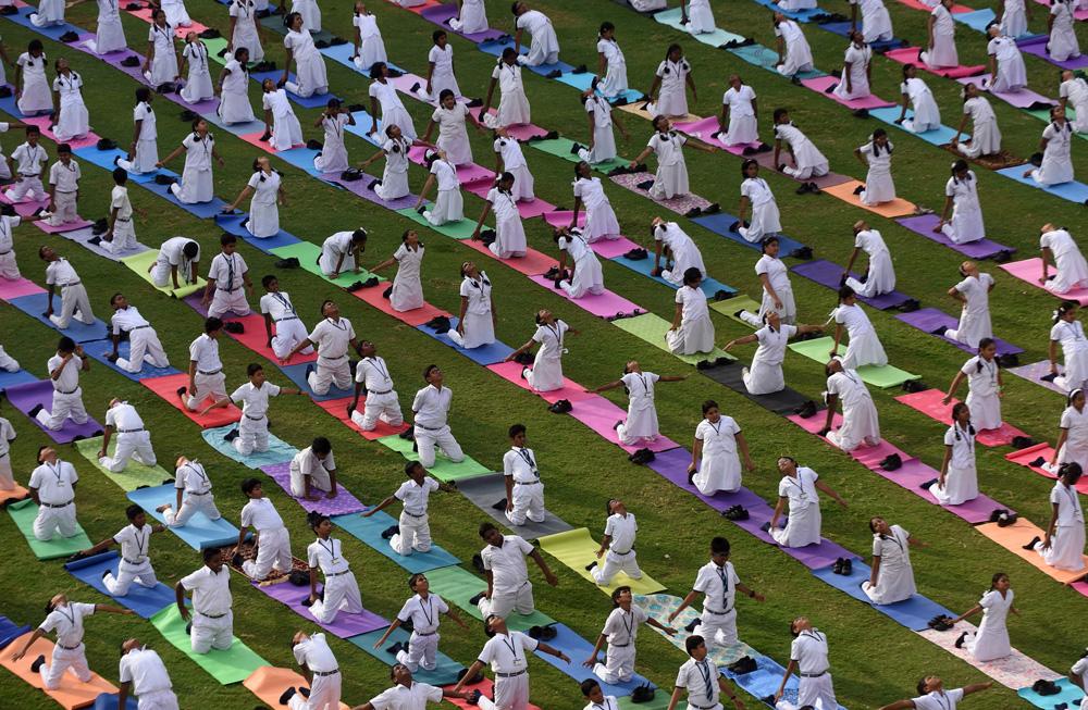 China celebrates International Yoga Day