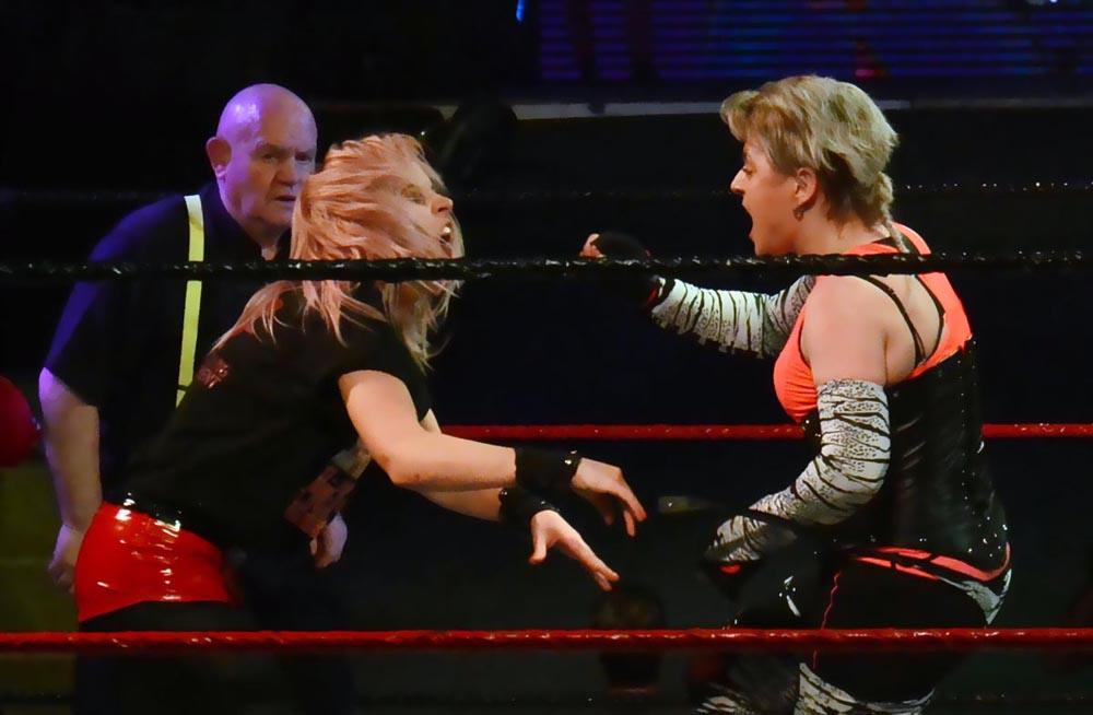 Wrestlers nail