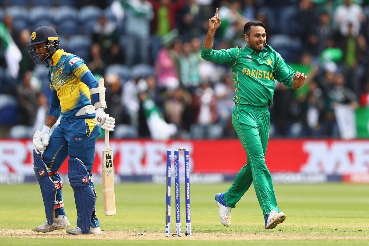 Fahim Ashraf bagged two wickets against Sri Lanka, the only match he played.