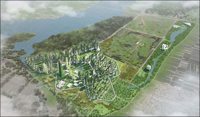 World S First Pollution Eating Forest City Liuzhou