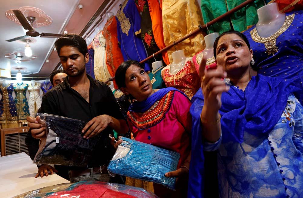 Indian Woman Bouncer Doing A Responsible Job Feels