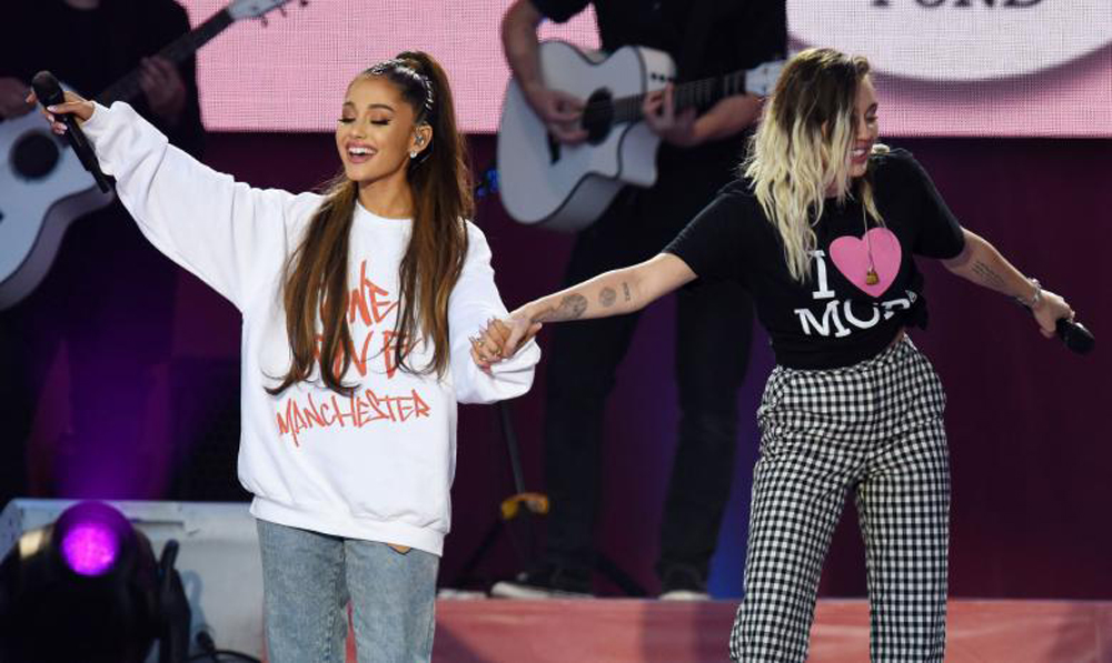Dancing policeman among highlights at Ariana Grande's One Love Manchester concert