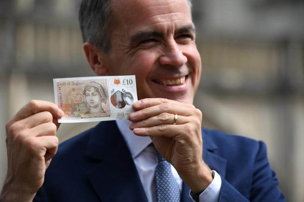 New Jane Austen £10 note will help blind