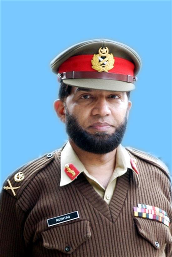 Lt General Mushtaq Ahmad Baig