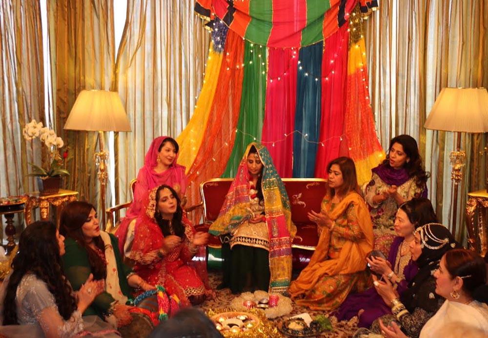 Traditional Pakistani wedding culture showcased at Ankara