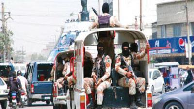 Sindh govt extends Rangers' mandate, powers