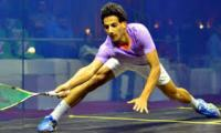 Hundreds turn up to witness world's top squash players in action