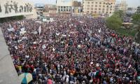Thousands of Iraqis protest Turkish troops deployment in Mosul