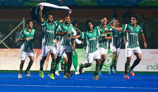 Pakistan edge India to retain SAG hockey title