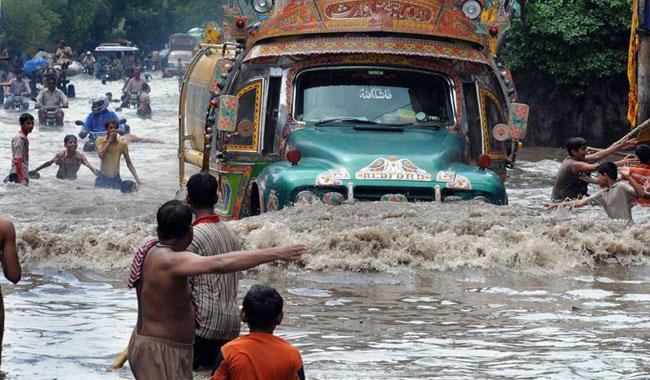 Two kids die as heavy rain lashes City