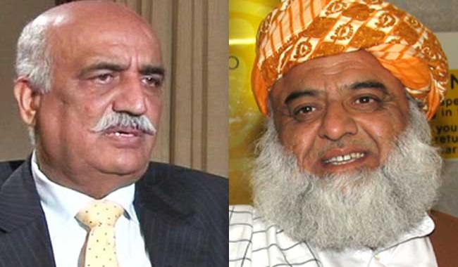 Altaf is Indian facilitator: Khursheed, Fazl seeks treason trial of MQM chief