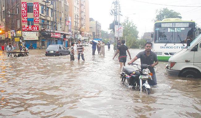Rain drowns civic bodies claims again