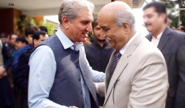 Shah Mahmood, Khursheed agree tobring resolution against Altaf