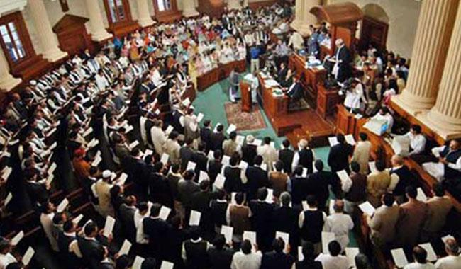 Rumpus in Punjab Assembly as Speaker, PTI MPA cross swords