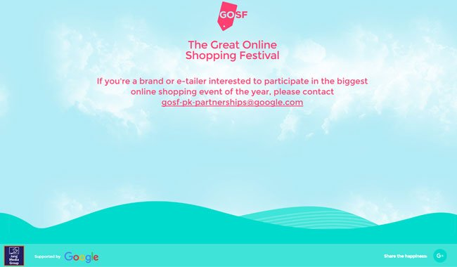 Jang Group, Google to launch online shopping festival