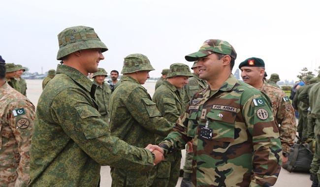 Pakistan, Russia begin joint military exercise