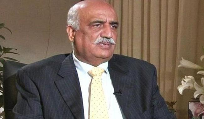 PPP against sending govt home: Khursheed