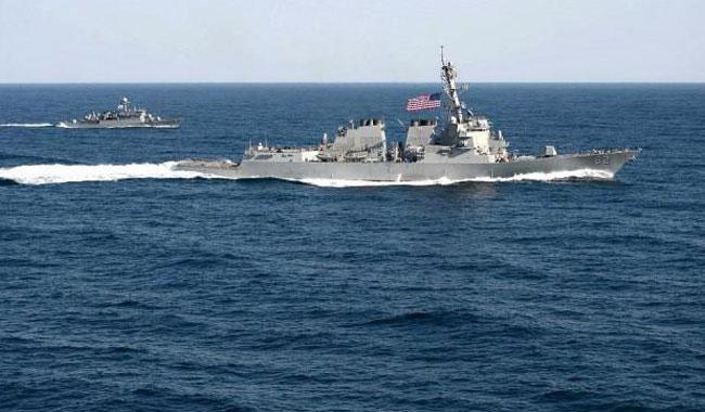 US runs freedom-of-navigation operation in South China Sea