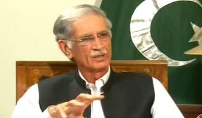 Banned outfits not supporting PTI: KP CM