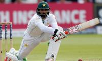 West Indies crumble after Misbah misses hundred