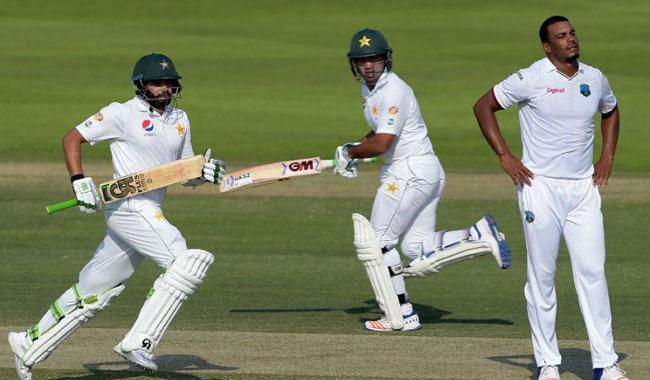 Pakistan build huge lead over Windies