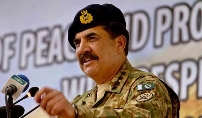 Pakistan set to march on road to progress: Gen Raheel