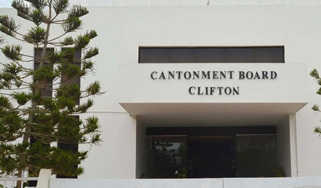 Clifton Cantonment Board stopped from collecting water tax