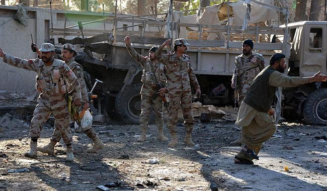 Four militant groups behind two lethal suicide attacks in Quetta