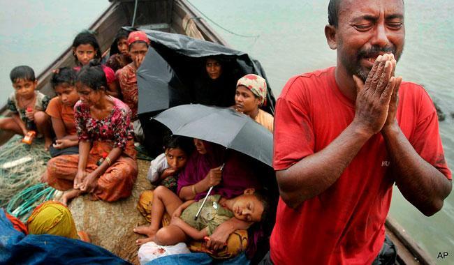No tears for the Rohingya