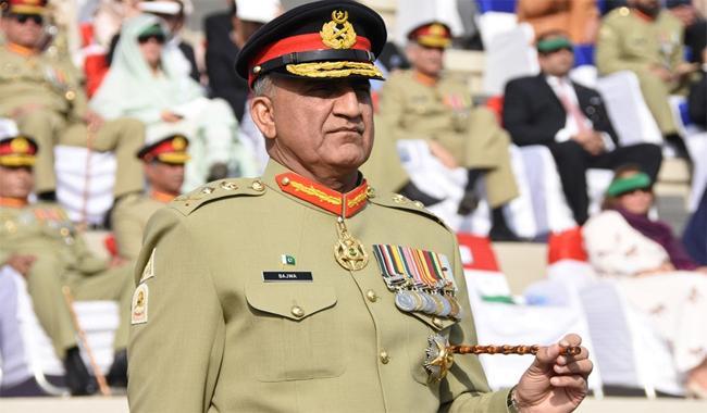 General Qamar Bajwa fourth oldest Pak Army chief