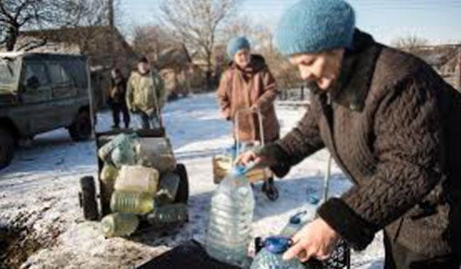 600,000 risk losing water in war-scarred Ukraine