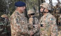 COAS asks troops to give befitting response to Indian aggression