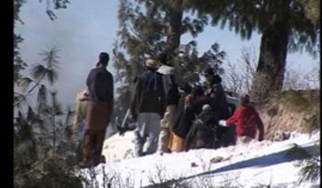 Three killed as van plunges into Upper Dir river