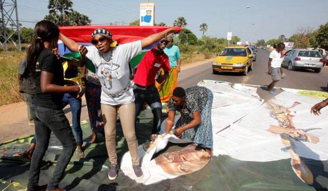 Joy, disbelief greet President Jammeh's defeat in Gambia vote