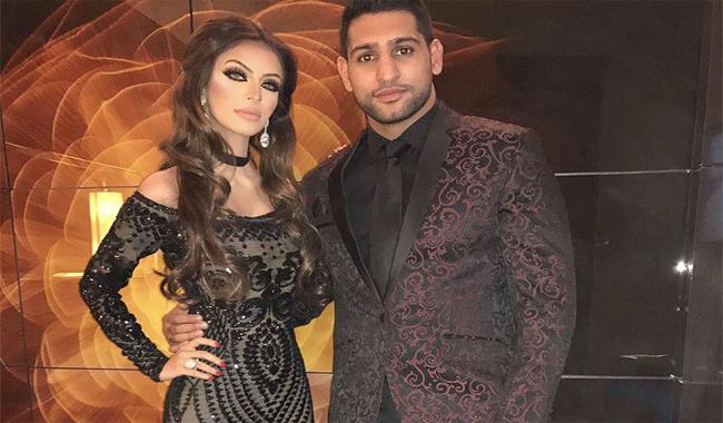 Boxer Amir Khan's wife complains of domestic abuse