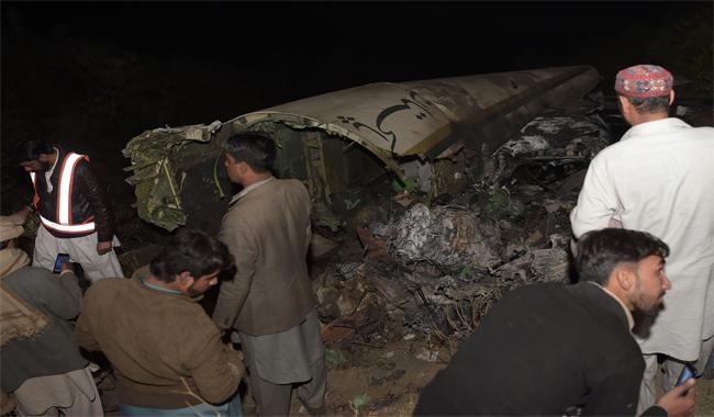 PIA plane crashes Junaid Jamshed, wife Nahya, Chitral DC, nine women among 48 dead