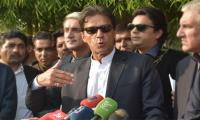 Imran rejects formation of commission