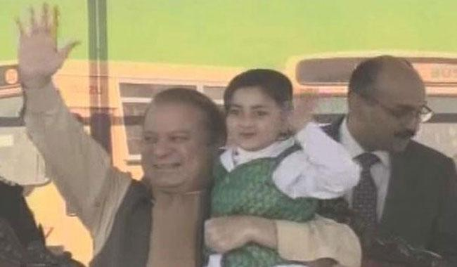PM gifts 200 buses to Islamabad schools