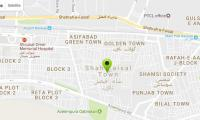 Seven shops at mall in Shah Faisal Town burglarised