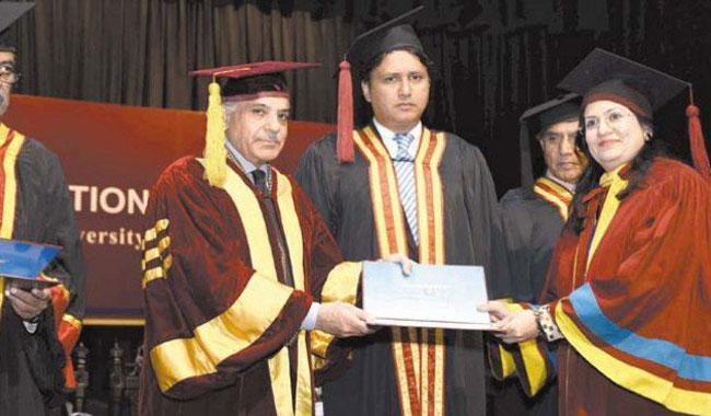 CM announces Rs100m for GCU endowment fund