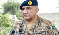 Terrorists will be defeated on all fronts: Gen Bajwa