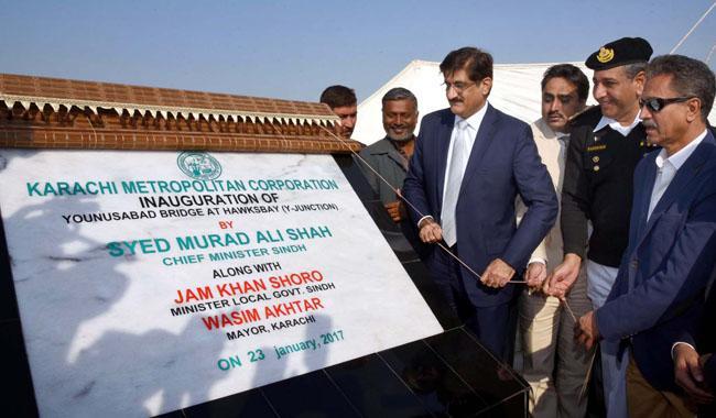 Bridge linking Karachi to Manora opens after repairs