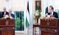 Pre-1967 borders and Al-Quds as capital only solution to Palestine issue: Nawaz